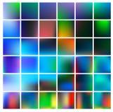 De kleurrijke achtergrond van het gradiëntnetwerk in heldere regenboogkleuren De samenvatting vertroebelde vlot beeld Royalty-vrije Stock Fotografie