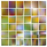 De kleurrijke achtergrond van het gradiëntnetwerk in heldere regenboogkleuren De samenvatting vertroebelde vlot beeld Stock Foto's