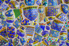 De kleurrijke achtergrond van het mozaïekpatroon Royalty-vrije Stock Afbeeldingen
