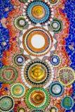 De kleurrijke achtergrond van het mozaïekpatroon Royalty-vrije Stock Fotografie