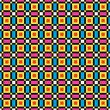 De kleurrijke Achtergrond van het Pixel Royalty-vrije Stock Fotografie