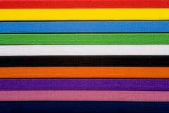 De kleurrijke Achtergrond van het Schuim Stock Foto