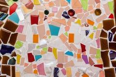 De kleurrijke achtergrond van het tegelpatroon Royalty-vrije Stock Afbeeldingen