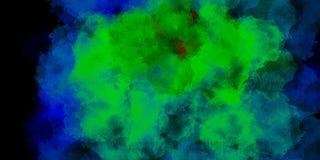 De Kleurrijke achtergrond van het waterverf abstracte patroon Illustratio stock fotografie