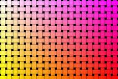 De kleurrijke achtergrond van het weefselpatroon royalty-vrije illustratie