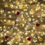 De kleurrijke achtergrond van Kerstmis Royalty-vrije Stock Foto