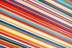 De kleurrijke achtergrond van de lijnen abstracte kunst stock fotografie