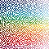 De kleurrijke Achtergrond van Punten Stock Afbeeldingen