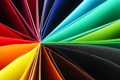 De kleurrijke Achtergrond van de Textuur van het Document Royalty-vrije Stock Afbeeldingen