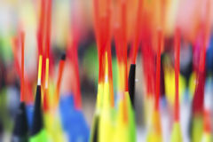 De Kleurrijke Achtergrond van visserijvlotters dicht omhoog stock afbeelding