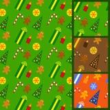 De kleurrijke achtergronden van Kerstmis Stock Afbeelding