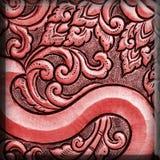 De kleurrijke antiquiteit graveerde zilver, kan als decoratieth worden gebruikt royalty-vrije stock afbeeldingen