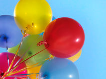De kleurrijke Ballons van de Lucht Royalty-vrije Stock Afbeelding