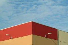 De kleurrijke bouw Stock Afbeelding