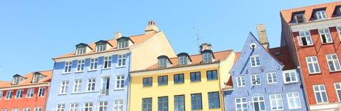 De kleurrijke bouw Stock Foto