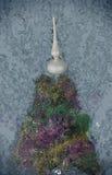 De kleurrijke decoratie van Kerstmis Heldere en gelukkige vakantietextuur Achtergrond Stock Afbeelding