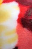De kleurrijke Deken van de Vacht Stock Fotografie