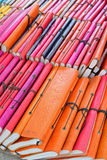 De kleurrijke dekking van het Tweede Handboek voor verkoop Stock Afbeelding