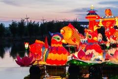 De kleurrijke dieren in nacht Royalty-vrije Stock Foto