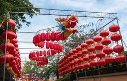 De kleurrijke draak in dag Stock Fotografie