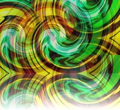 De kleurrijke gekleurde samenvatting omcirkelt achtergrondillustratie royalty-vrije stock afbeelding