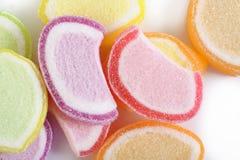 De kleurrijke gelei van het suikergoedfruit Stock Foto's