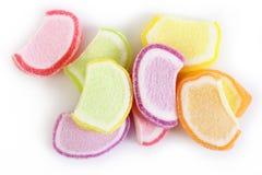 De kleurrijke gelei van het suikergoedfruit Royalty-vrije Stock Afbeeldingen