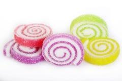 De kleurrijke gelei van het suikergoedfruit Stock Afbeeldingen