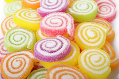 De kleurrijke gelei van het suikergoedfruit Stock Foto