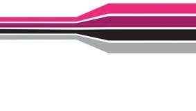 De kleurrijke Grens van de Lijn stock illustratie
