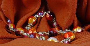 De kleurrijke halsband van de meningsparel Royalty-vrije Stock Afbeelding