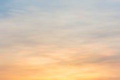 De kleurrijke Hemel van de Zonsondergang Royalty-vrije Stock Foto's