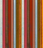 De kleurrijke Houten achtergrond van de patroontextuur Stock Afbeelding