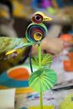 De Kleurrijke Kaketoe wacht Royalty-vrije Stock Afbeeldingen