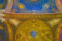 De kleurrijke koepel Royalty-vrije Stock Afbeeldingen