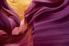 De kleurrijke Lagere Canion van de Antilope Royalty-vrije Stock Foto's