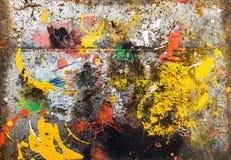 De kleurrijke levendige achtergrond van de kleurenplons Stock Afbeeldingen