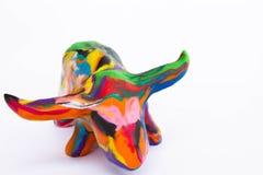 De kleurrijke Modellen van de Klei Royalty-vrije Stock Afbeeldingen