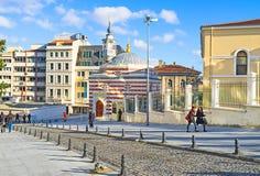 De kleurrijke moskee Stock Afbeelding