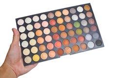 De kleurrijke Oogschaduw maakt omhoog Palet. Stock Foto
