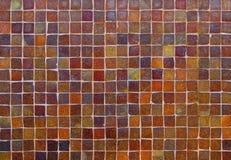 De kleurrijke oude textuur van de steenmuur Royalty-vrije Stock Foto's