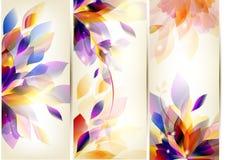 De kleurrijke reeks van de brochure Royalty-vrije Stock Foto