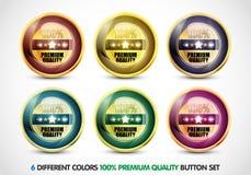 De kleurrijke Reeks van de Knoop van de Kwaliteit van de Premie van 100% Royalty-vrije Stock Afbeeldingen