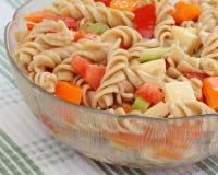 De kleurrijke Salade van Deegwaren Royalty-vrije Stock Fotografie