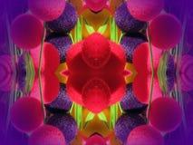 De kleurrijke Samenvatting van Bellen Stock Afbeelding
