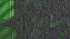 De kleurrijke schitterende achtergrond van patroon lichte transformaties Van een lus voorzien animatie stock videobeelden