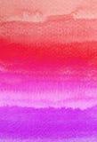 De kleurrijke slagen van de waterverfborstel royalty-vrije stock foto