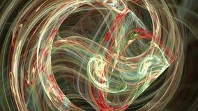 De kleurrijke spiraalvormige achtergrond van de patroon abstracte motie royalty-vrije illustratie