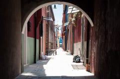 De kleurrijke stad Royalty-vrije Stock Foto