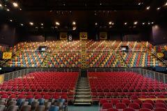 De zetels van het stadion Royalty-vrije Stock Foto